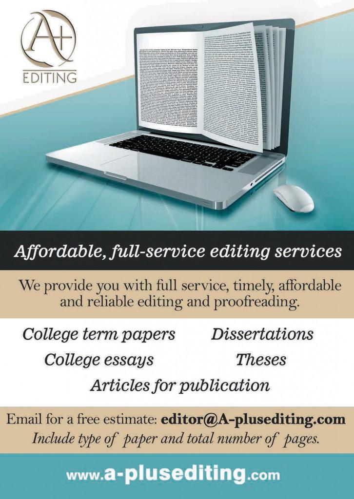 A Plus Editing Flyer rgb